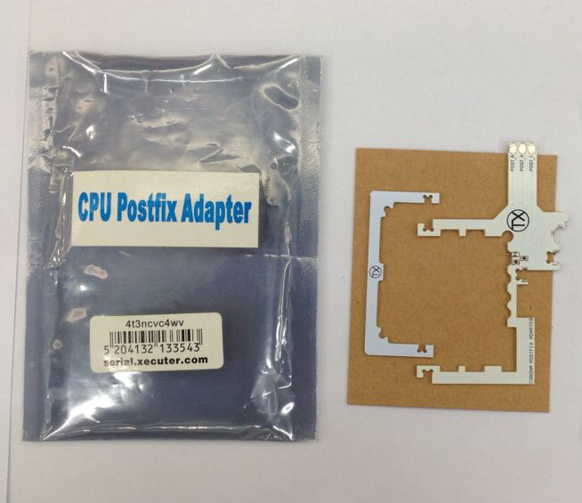 10pcs/lot CPU POSTFIX CORONA ADAPTER 1 V1 for xbox360 slim