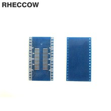 RHECCOW 10 шт. SOP32 к DIP32 sop 32 к dip 32 1,27 мм шаг к dip pcb адаптер пластина Конвертер доска