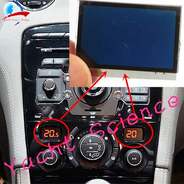 1 adet araba ACC Lcd Panel modülü ekran monitör piksel tamir klima bilgi ekranı Peugeot 408 308 için 308CC