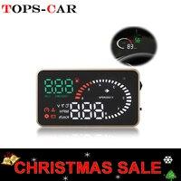 GEYIREN X6 Car HUD OBD II Head Up Display Overspeed Warning System Projector Windshield Auto Electronic Voltage Alarm