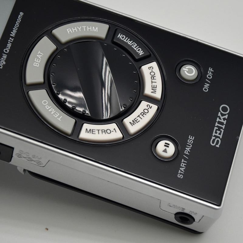 Métronome numérique Seiko métronome à Quartz Instruments de musique accordeur professionnel Piano guitare violon partenaire Seiko SQ5060 70 200