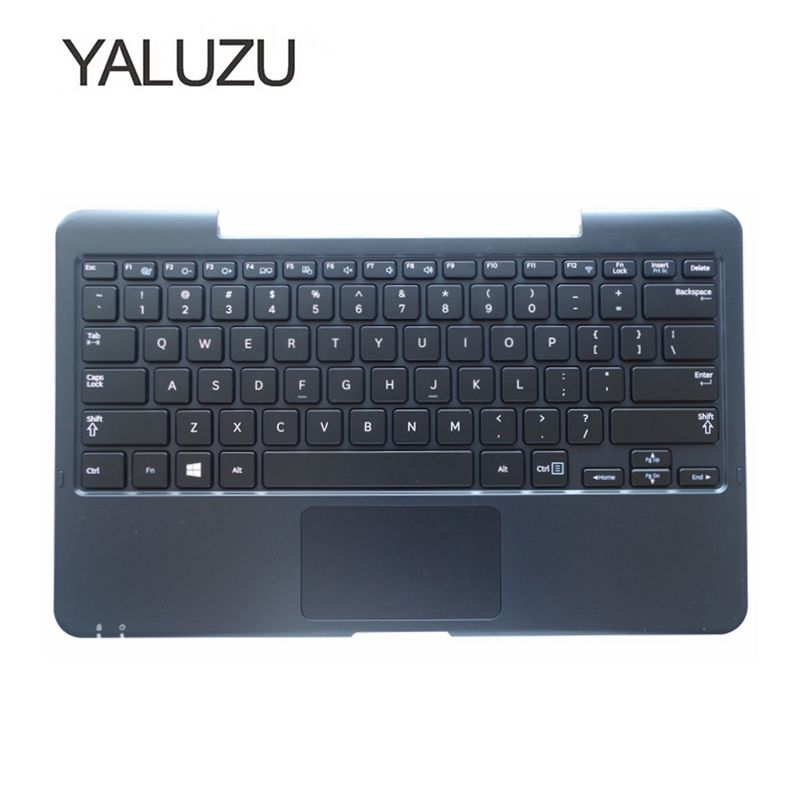 YALUZU NEW US Laptop Palmrest Keyboard For SAMSUNG XE700T1C XE500T1C 500T1C English C shell Topcase cover Replace case touchpad все цены