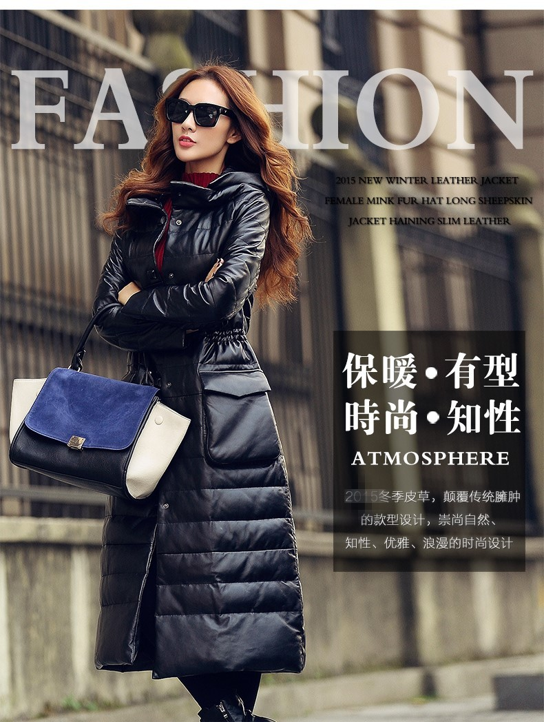 3bba1191bd8 http   ru.aliexpress.com store product Winter-Women-s-Genuine-Leather-Long -Design-Plus-Size-Down-Clothing-Female-Sheepskin-Hooded-Outerwear  ...