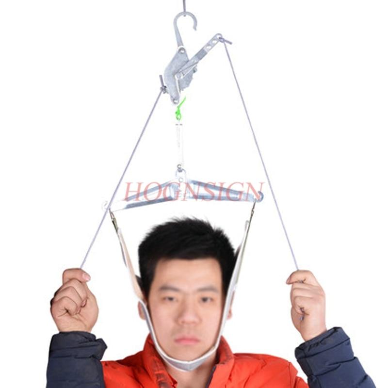 Cervical traction frame portable home cervical device neck stretching