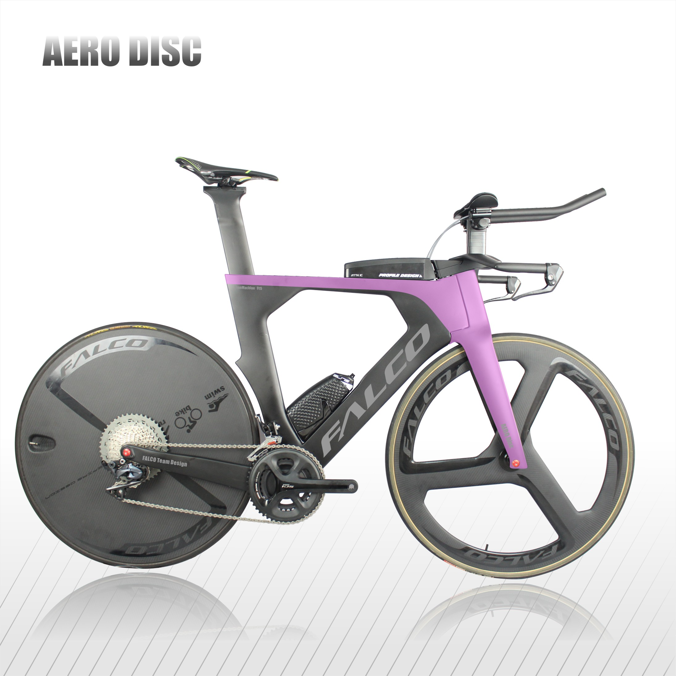 2020 Top Best  Disc Triathlon Bikes FALCO 915 Triathlon Bike Frame Time Trial TT Frame 48 52 54 56 58cm