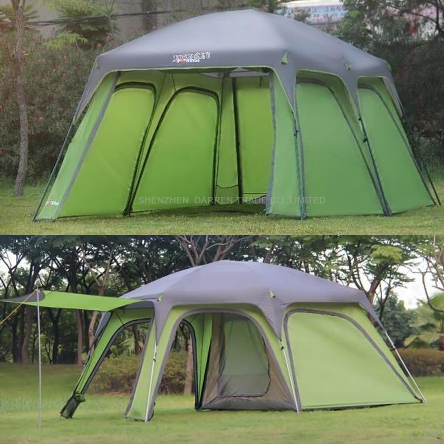Ultralarge 5-8 dupla rétegű kültéri 1 nappali és 1 hall családi - Kemping és túrázás - Fénykép 4