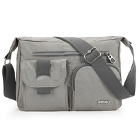 2017 New Nylon Bag Neutral Shoulder Bag Large Capacity Messenger Bag Fashion Men Diagonal Package Ladies