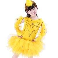 בעלי החיים של ילדי ריקוד מטורף אפרוחים גם בגדי ביצועים לילדים תחפושות תחפושות תחפושות בנות ציפור