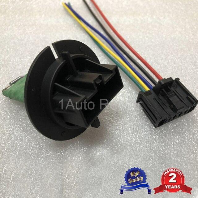 Ventilador calentador de resistencia arnés de cable conector para Peugeot 206 Peugeot 307 Citroen C3 Xsara 6450JP