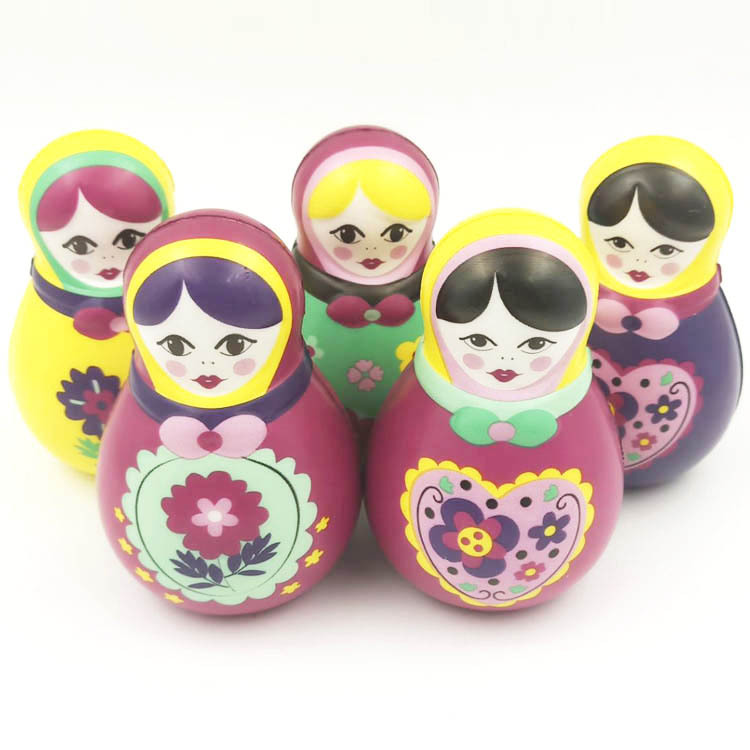 20pcs rare squishy colorful princess mermaid girl squeeze toy Environmental protection printing slow rising squishy wholesale