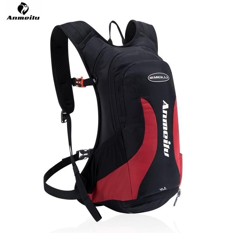 ANMEILU 10L Outdoor Waterproof Lightweight Backpack Hydration Bladder Pack Sports Rucksack Cycling Running Camping Backpack Bag in Carrier Systems from Automobiles Motorcycles