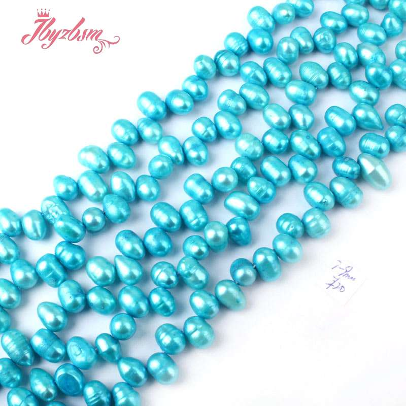 Jewelry & Accessories 4x5-6x7mm Oval Freshwater Cultured Pearl Natural Stone Beads For Bracelet Necklace Earring Diy Jewelry Making 15 Free Shipping Cheapest Price From Our Site Beads