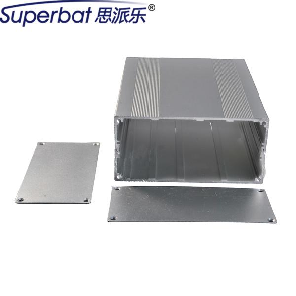 """Superbat 2.68 """"5.71*7.87"""" Super Alumínio Projeto Box Recinto Caso PCB Placa de Circuito Amplificador de Instrumento Eletrônico 68x145x200mm"""