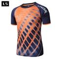 Lingsai verano estilo hombres de la camiseta 2017 nueva marca ventas clothing camisetas camisas slim fit camiseta de los hombres de secado rápido