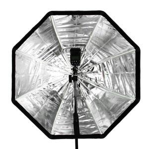 Image 5 - Godox 95cm 37.5in Portable Umbrella Octagon Softbox Flash Speedlight Speedlite Reflector Softbox with Carrying Bag