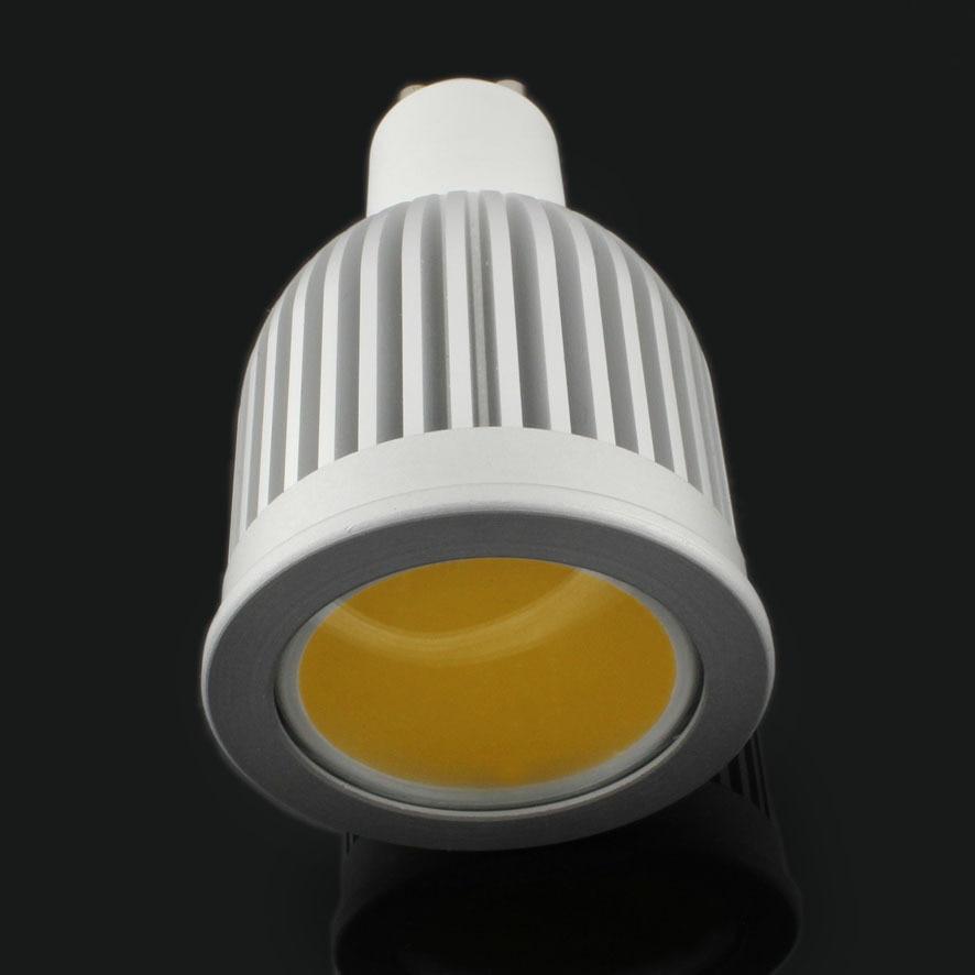 30 pcs/lot 85 265V GU10 E27 MR16 GU5.3 E14 7w 9W COB LED Spot ampoules lampe blanc chaud/blanc froid haute luminosité 4300k - 4