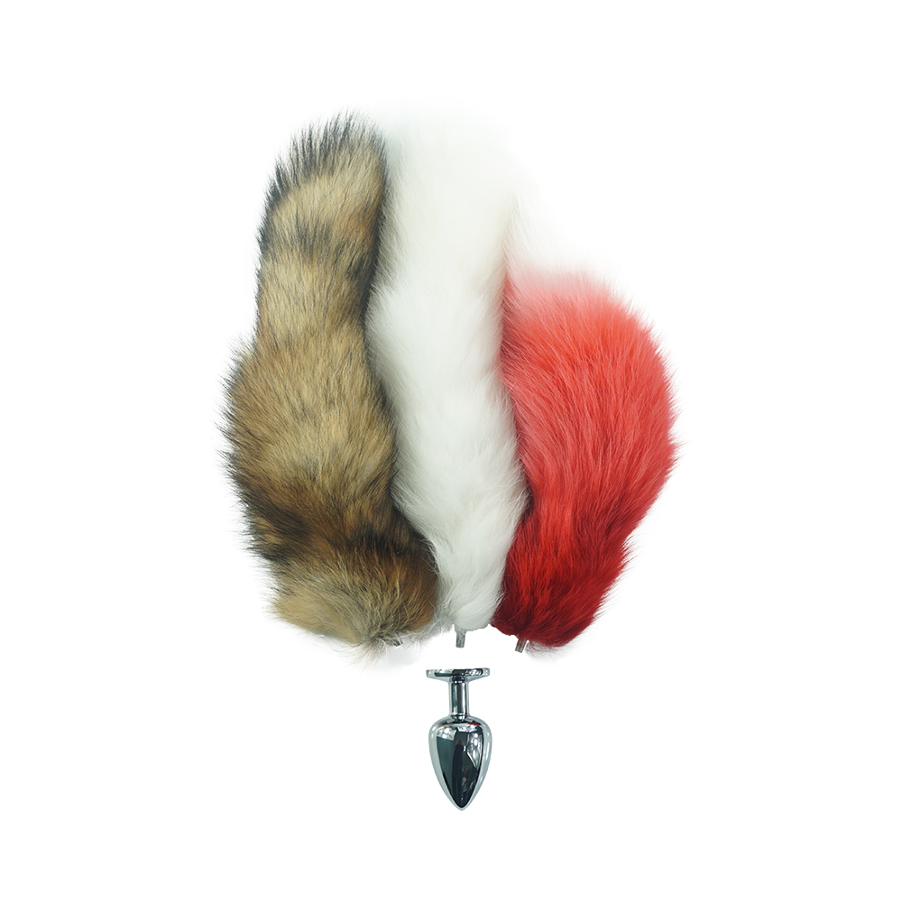 Aliexpresscom  Buy Fox Tail 3 Size Anal Plug For Choose -5796
