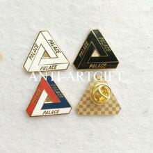 На заказ имитация золотого покрытия значки Красочные Твердые эмаль значок 15 мм OEM/ODM услуги