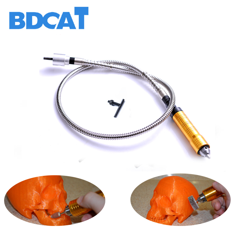 6mm Rotary Grinder Tool Flexible Flex Shaft Fits + 0-6.5mm Handpiece For Dremel Style Electric Drill Rotary Tool Accessories