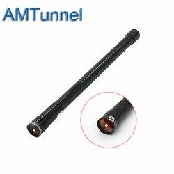 NL-350 Black 144 430MHz VHF UHF Dual Band Fiber Glass Aerial Mobile Antenna Fiberglass for Car Mobile Radio Transceiver