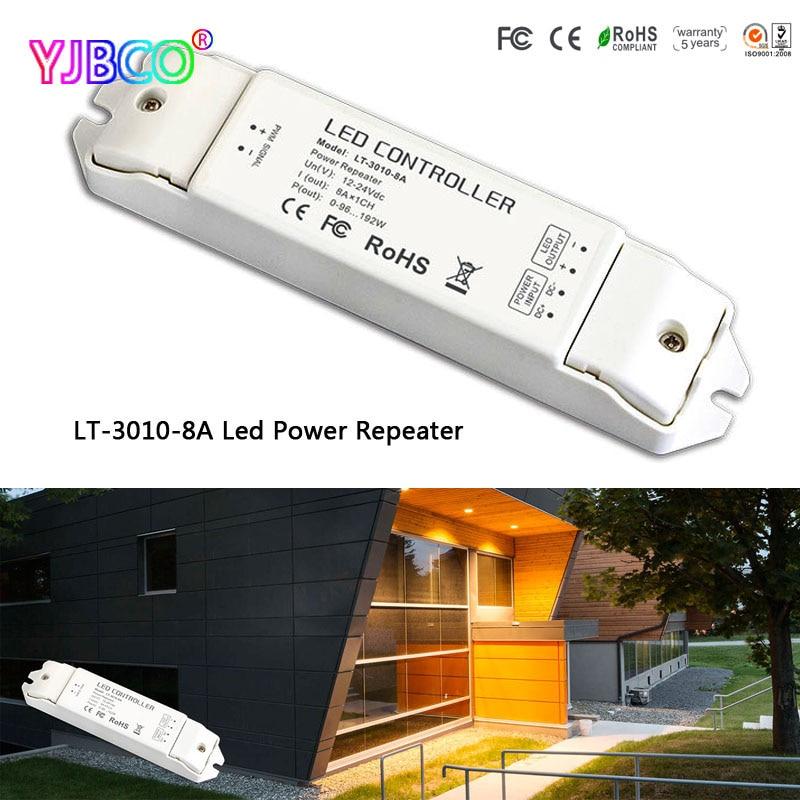 Led Controller Lt-3010-8a Dc12-24v 8ch Beleuchtung Zubehör 1a 8a Led Cv Power Repeater Akzeptieren Pwm-steuerung Für Einzelne Farbe Led Streifen
