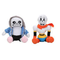 10cs/lot Hot Game Brothers Sans aster blaster Plush Doll Animation Plush Toys Baby Kids Birthday Gift
