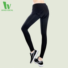 VANSYDICAL Yoga Sports Leggings For Women Sports Tight Comprehension Fitness Sports Pants Ladies 2 in 1 Running Yoga Pants Women
