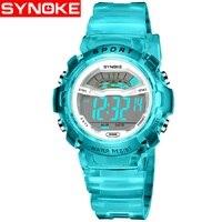 New Kids Watch LED Digital Wrist Watches For Boy Girl Saat Calendar 30M Water Resistant Alarm