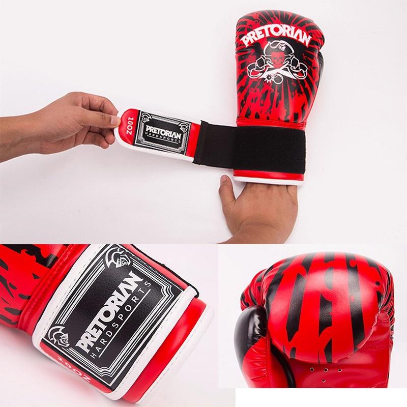 10OZ 12OZ Pretorian Boxningshandskar Muay Thai MMA Fitness Jujitsu - Sportkläder och accessoarer - Foto 5