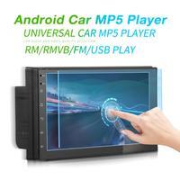 7 дюймов 4 ядра 2Din Android 7,1 Bluetooth автомобильный FM Радио стерео плеер Поддержка Зеркало Ссылка/wi fi/gps навигации сенсорный экран