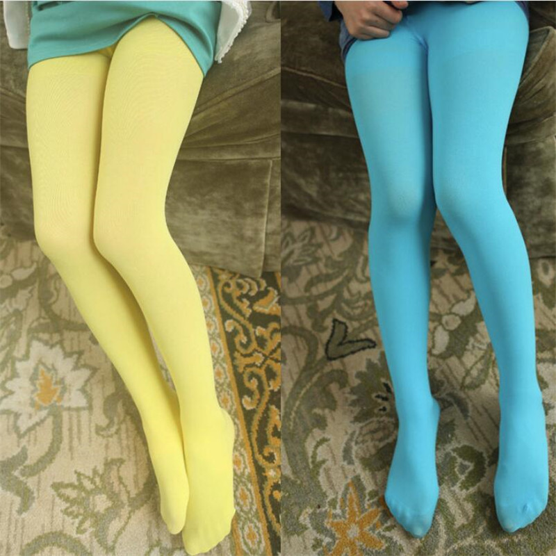 be76a893bdc Κορίτσια ' ρούχα Spring/autumn Candy Color Children Tights for Baby Girls  Kids Cute Velvet Pantyhose Tights Stockings for Girls Dance Tights
