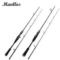 Mavllos M Hard Power Carbon Spinning Casting Rod C W7 25g Saltwater Fishing Rods L W5