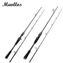 Mavllos M Hard Power Carbon Spinning Casting Rod C.W7-25g Saltwater Fishing Rods L.W5-15lb Ultralight Fishing Pole Tackle