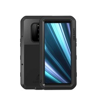 Original Metal Waterproof Case Cover For Sony Xperia 1 Shockproof Phone Case Aluminum Metal+Silicon+Gorrila Glass Coque KS0161