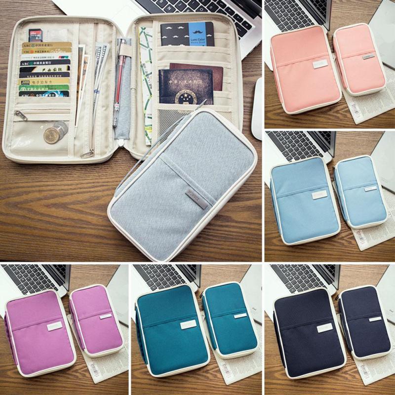 Organizer System Kit Fall Lagerung Tasche Für Für Dokument Passport Bank Karte Reise Taschen Münze USB Kabel SD Karte Veranstalter g30