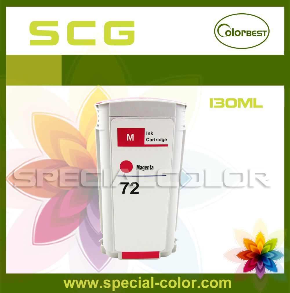 ФОТО 130ml Color Magenta Pigment Ink Printing Ink Cartridge with Chip for T610 T620 T770 T790 T1100 T1120 T1200 T1300