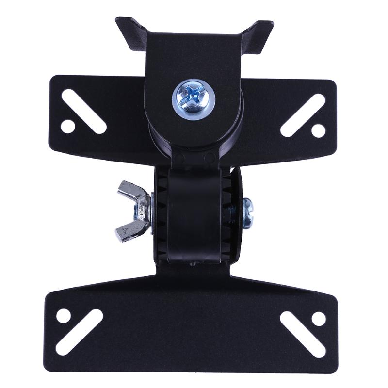 Universal 30 Degrees Rotated Steel LCD LED Falt Panel Monitor TV Wall Mount Bracket Holder for 14-32 TV Monitor