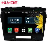 10.1 IPS Octa Core 4G Android 8.1 4GB RAM 64GB ROM RDS Car DVD Player Autoradio Stereo GPS Glonass For Suzuki Vitara 2015 2019