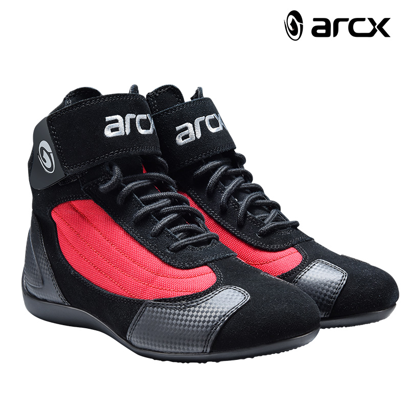 ARCX Motorcycle Riding Breathable Boots Moto Protection Motorbike Biker Touring bots Shoes for Men and Women