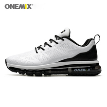 ONEMIX Air Cushion Running Shoes Waterproof Sports Shoes Ladies Casual Walking Shoes Outdoor Training Fitness onemix men flash running shoes air cushion wearable sport shoes breathable comfort fitness sneakers outdoor casual walking shoes