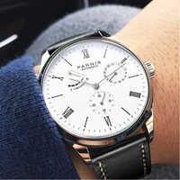2019 Luxury Man Parnis Diver Reserve Automatic Watch Mechanical Self Winding Men Watches mekanik kol saati relogio automatico
