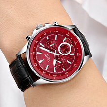 LIGE Quartz Watch Men LG9814