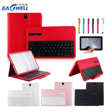 New 2 in 1 Removable Wireless Bluetooth Keyboard Case For Samsung Galaxy Tab S3 9.7″ T820/T825 Tablet PC Case With Keyboard