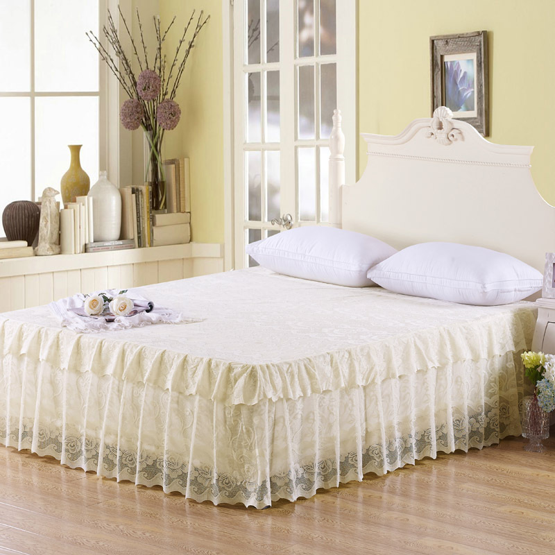 Princess Lace Bedskirt Bed Cover Bed Mattress Cover