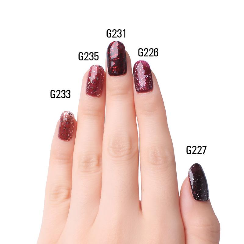 Diamond Red UV Gel Polish For Nail Art Professional LED Soak Off Gel Varnish Lacquer High Quality Free Shipping 10ml Bottle 11