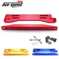 Car Billet Aluminum Rear Subframe Bar + Lower Tie Bar For Honda Civic