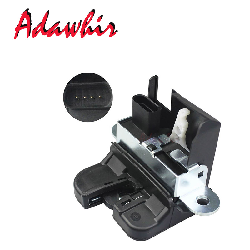 For Seat Leon 1P tailgate lock lock for tailgate trunk rear lock 1P0827505A 1P0827505B 1P0827505C 1P0827505D 5K0827505A in Door Hinge Conversion Kits from Automobiles Motorcycles