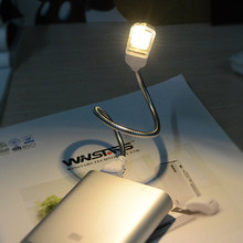 LED Night light USB Cable 5V Book Reading lamp Eye Protection Mini Desk Table lighting For PC Notebook Power Supply Study Work()