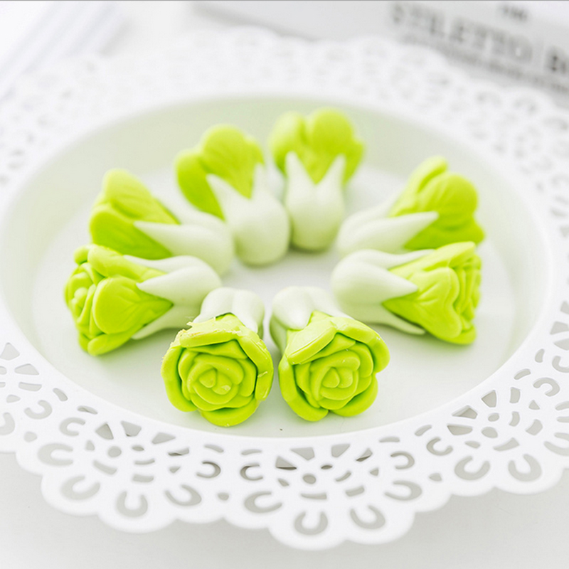 2 Pcs/lot Kawaii Vegetables Creative Eraser Creative Stationery School Supplies Papelaria Scolastici Child  Stationery