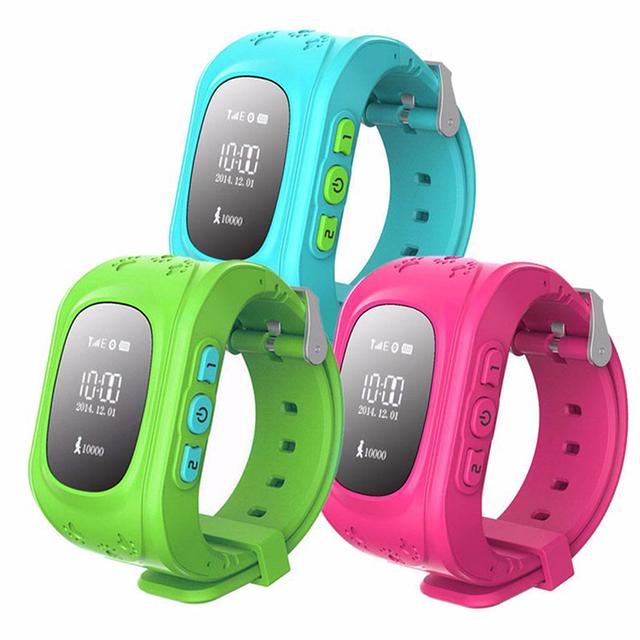 Q50 GPS Smart Kid SOS Chamada de Seguro para o Relógio inteligente Relógio de Pulso Location Finder Locator Rastreador para Criança Anti Perdido Monitor Do Bebê Filho